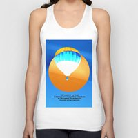 hot air balloon Tank Tops featuring Cold Hot Air Balloon by Annaleta Nichols