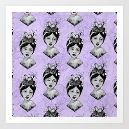 Beth's Nest Pattern Art Print