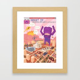 What if... Framed Art Print