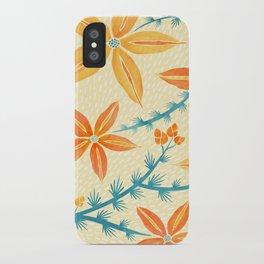 Vintage Hawaiian Print iPhone Case