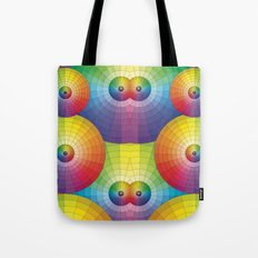 Rainbow Pretty Circles Color Wheel Awesome Thing Tote Bag