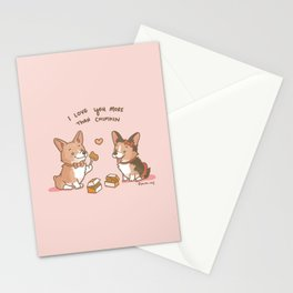Love you More than Chimkin Stationery Cards