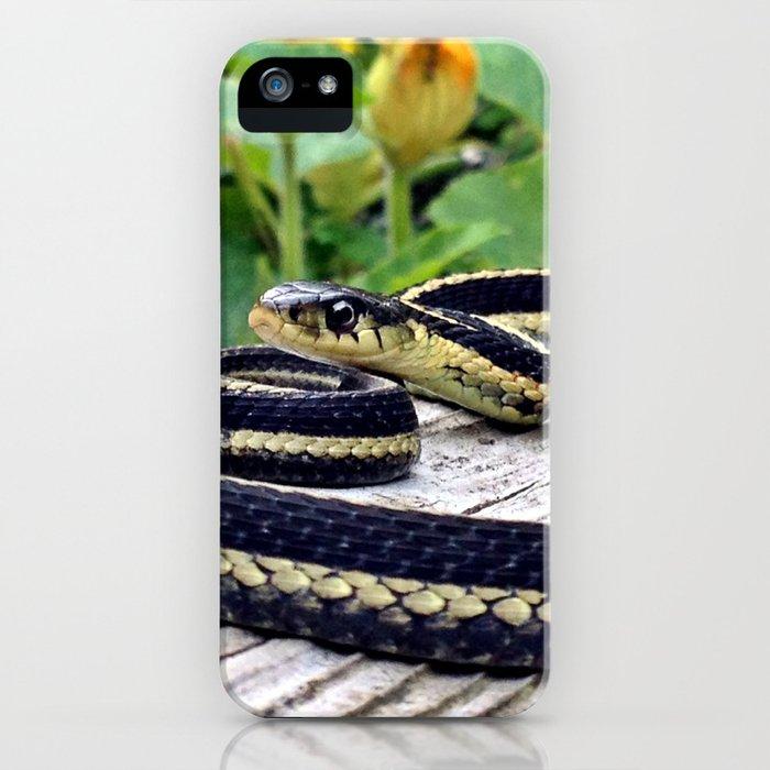 Garter Snake, High Park Gardens iPhone Case