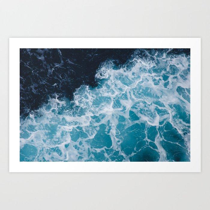 Pacific Ocean Art Print
