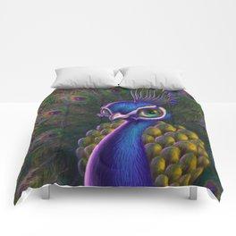 Peacocking Comforters