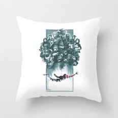 Falling Shepard Throw Pillow