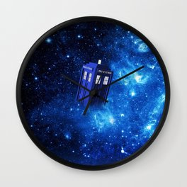 TARDIS SPACE OF TIME Wall Clock