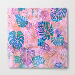 Kona Tropic Coral Metal Print