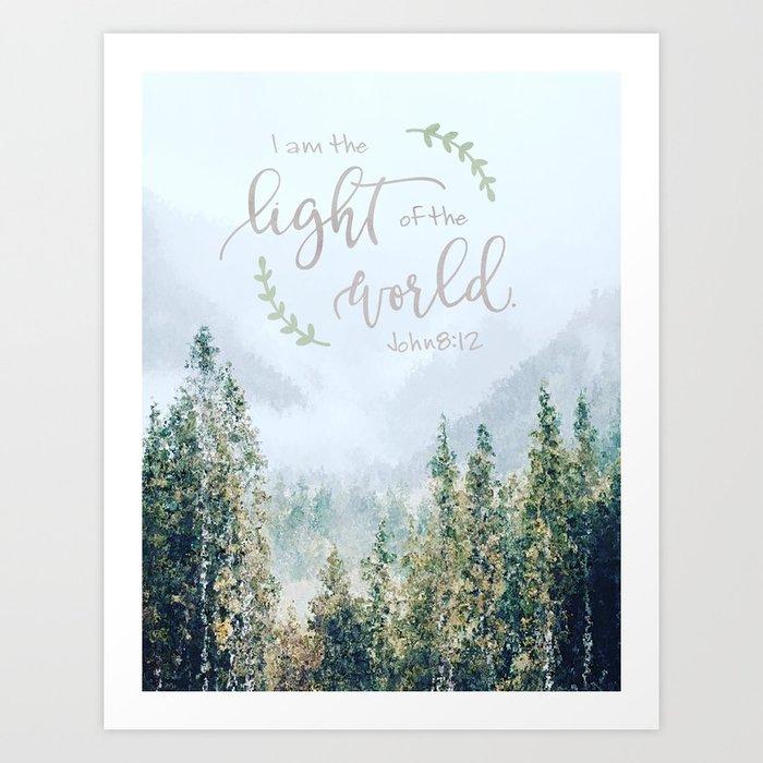Light Of The World Art Print