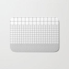 3 Grids Bath Mat