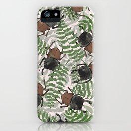 Mokohinau Stag Beetle iPhone Case