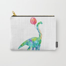 brachiosaurus with red balloon Carry-All Pouch