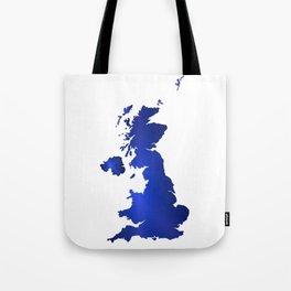 United Kingdom Map silhouette Tote Bag