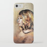 jennifer lawrence iPhone & iPod Cases featuring Lawrence by Meder Taab