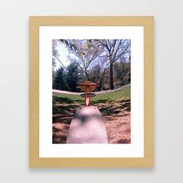 Teeter Framed Art Print