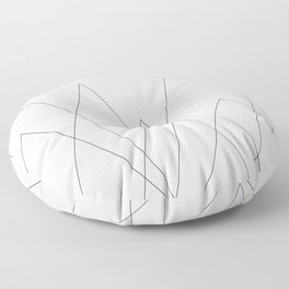 World of Opportunities Floor Pillow