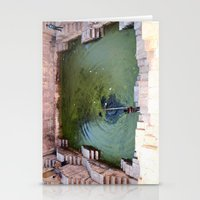 pool Stationery Cards featuring Pool by Avigur