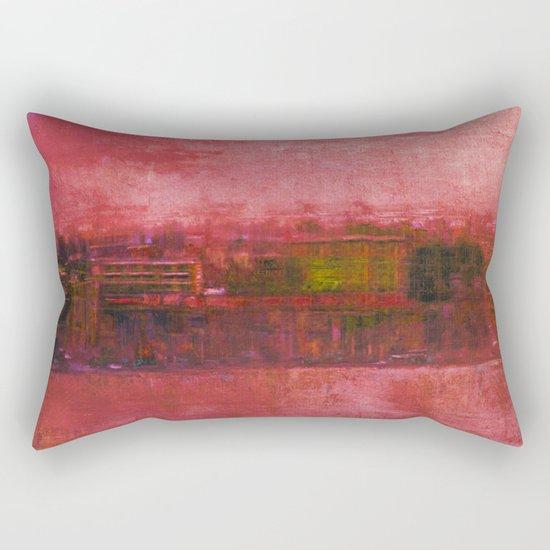 Purple Sunset Rectangular Pillow