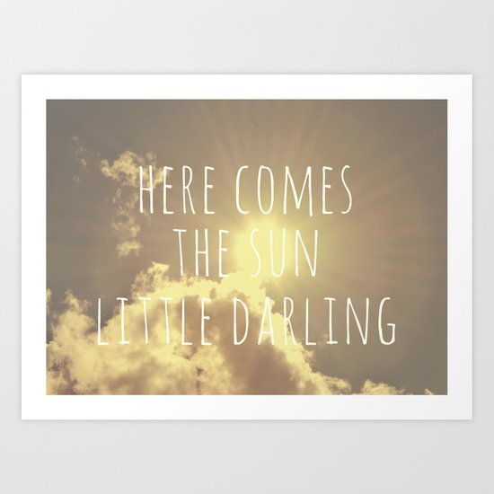 Little Darling  Art Print