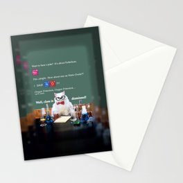 Chemistry Cat Stationery Cards