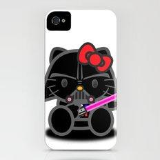 Dark Kitten Slim Case iPhone (4, 4s)