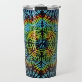 Exhale: A vibrant mix of colors of the rainbow Travel Mug