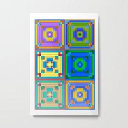 Squares of May Metal Print