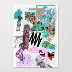 Defrag. Canvas Print
