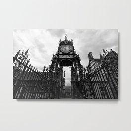 Eastgate Clock Metal Print