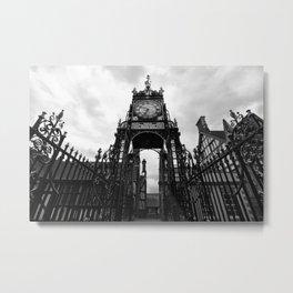 Eastgate Clock Metal Print