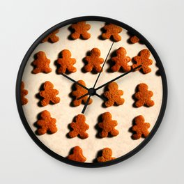 Christmas Cookies Pattern II Wall Clock