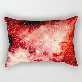 Red Carina Nebula Rectangular Pillow