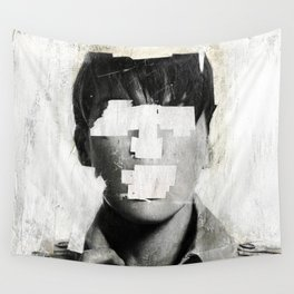 Faceless | number 02 Wall Tapestry