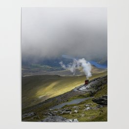 Snowdonia Mountain Railway Poster