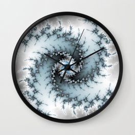 Fractal Vortex Wall Clock