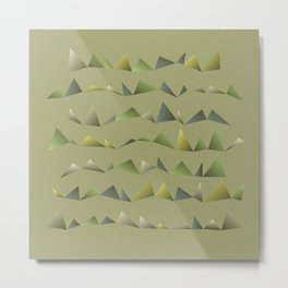 Musical Mountains 1 Metal Print