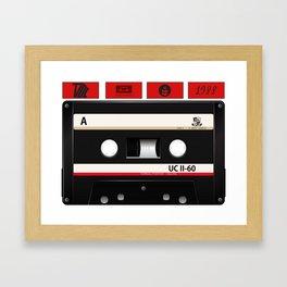 Tape Childhood Framed Art Print