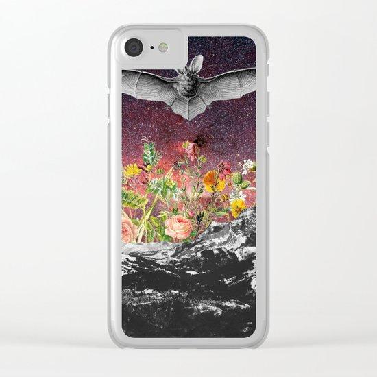 THE BAT Clear iPhone Case