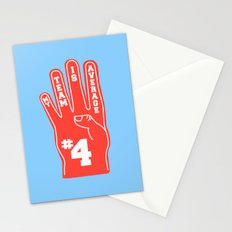 Foam Finger Stationery Cards