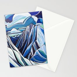 Downie and Boulder in Blue Stationery Cards
