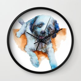 DOG#17 Wall Clock