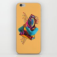 stockholm iPhone & iPod Skins featuring Stockholm Syndrome by Eugenia Loli