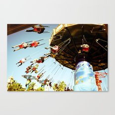 In Motion Canvas Print