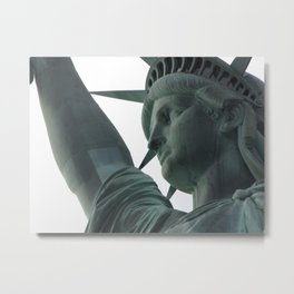 Miss Liberty Metal Print