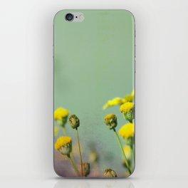 Yellow nostalgia iPhone Skin