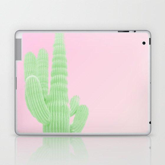 Cactus Pink Laptop & iPad Skin