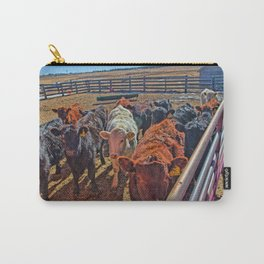 Last Year's Calves Carry-All Pouch