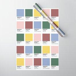 MANTONE® Colour Palette Wrapping Paper