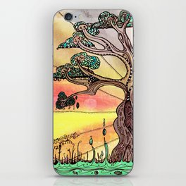 Drink the Wild Air by Rosemary Knowles, aka MaxillaMellifer iPhone Skin