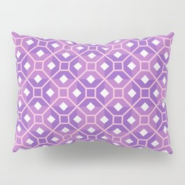 Purple Haze Abstract Tessellation Seamless Pattern Pillow Sham